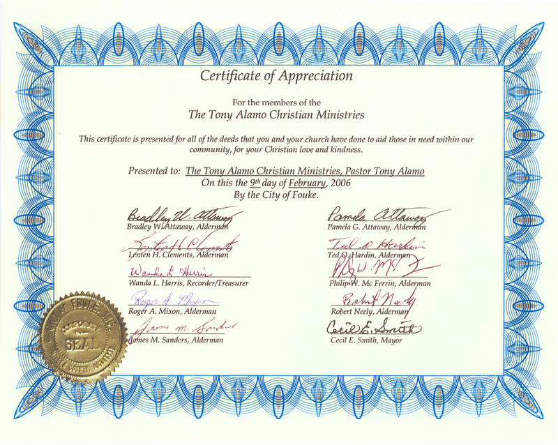 pastor appreciation certificate template free - pastor appreciation certificate template pictures to pin