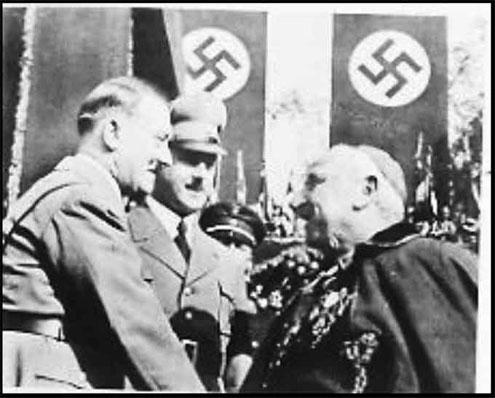 Hitler y Católico Reich Muller y Nazis