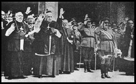 Jerarquía Española Católica y Nazis