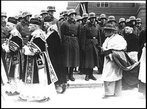 Cardinal Católico Bertram y Nazis