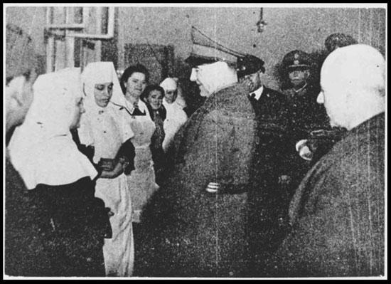 Nazis con Monjas Católicas