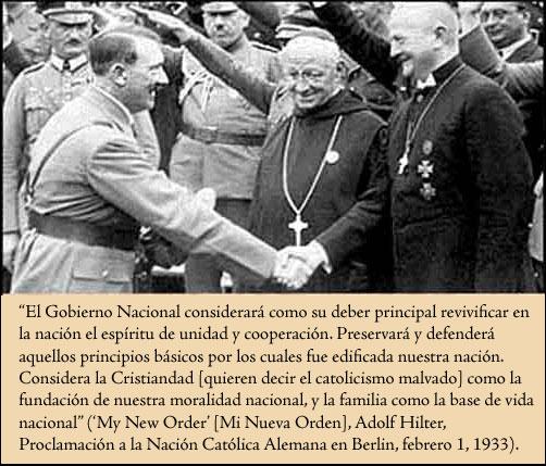 Hitler y Obispo Católicos