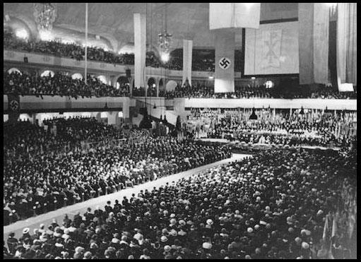 Nazi Celebration for Catholic Bishop Konrad Praysing
