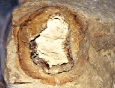 image of sulfur (brimstones) in Sodom & Gomorrah
