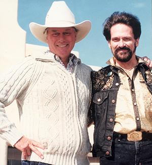 Actor Larry Hagman and Pastor Tony Alamo